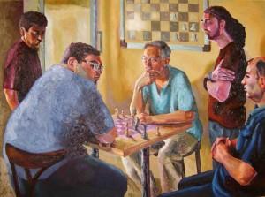 Serkan Ergün - Satranç Oyuncuları, Chess Players